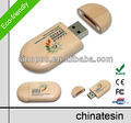 Custom Free Logo Classical Wooden USB Flash Drive