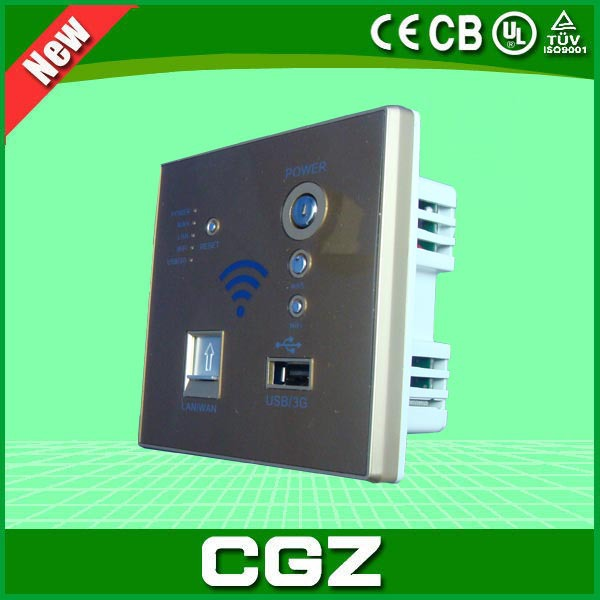 Load balancing 3G wireless optical fiber with WiFi dual card router