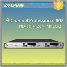 DMB-9060 DTVANE Mpeg2/4 SD/HD decoding DVB-S2 IRD dvb-s2 mpeg4 hd receiver with CI and IP