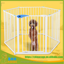 2017 new style dog fence and knell dog play pen safe gate