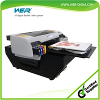 hot-sale A2 WER-D4880T t shirt plotter for print fabrics