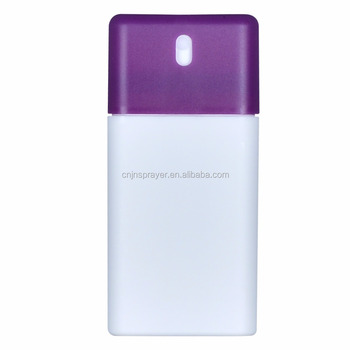 20ml uv coating credit card plastic perfume bottles20ml empty perfume spray bottlespp