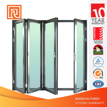 australian standard aluminium framed bi-fold door with low e glass