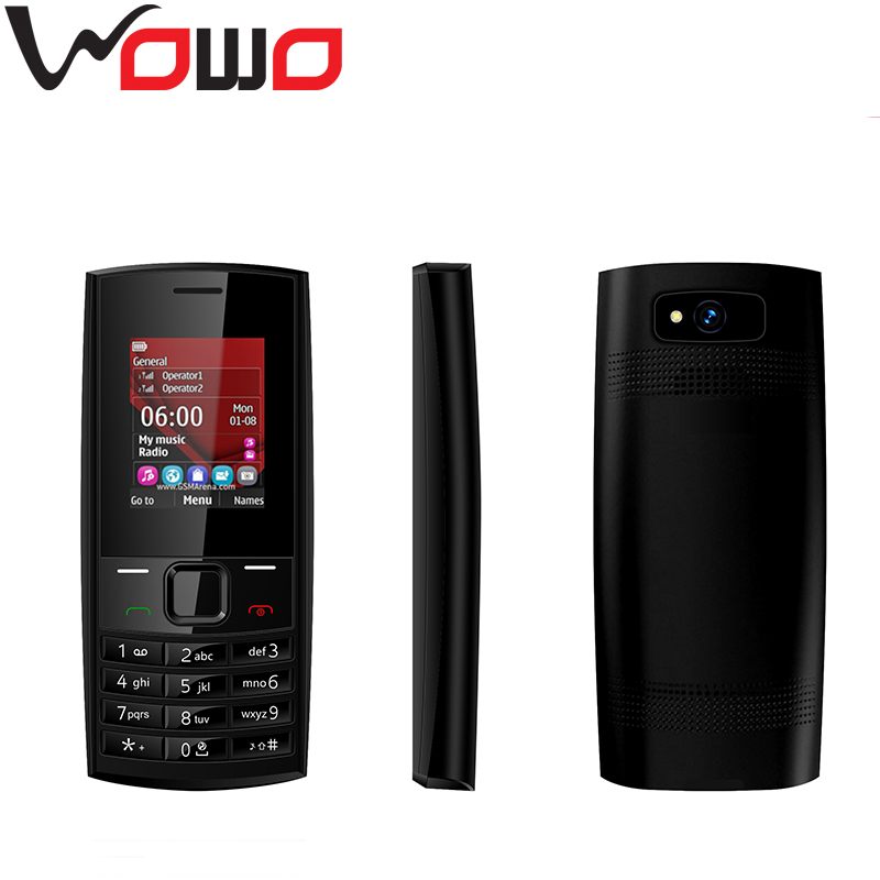 New Model X2-02 Mobile Phone For Nokia 1.77inch Single Cell Phones 2G Feature Phones SC6531