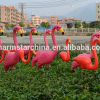 Factory Supply Plastic Red Pink Lawn