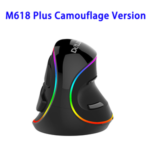Original DeLUX M618 Plus Gaming Wireless Vertical Mouse