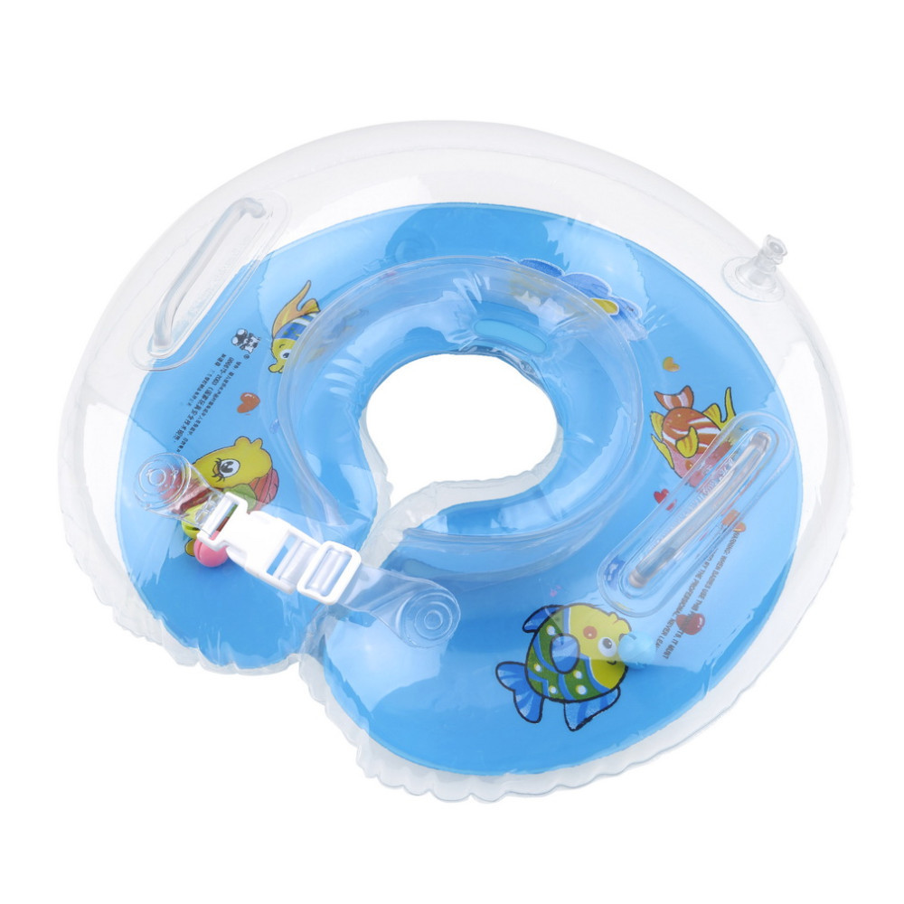 Tube Ring Safety Baby Aids Infant Swimming Neck Float Inflatable Newest Drop Shipping Wholesale