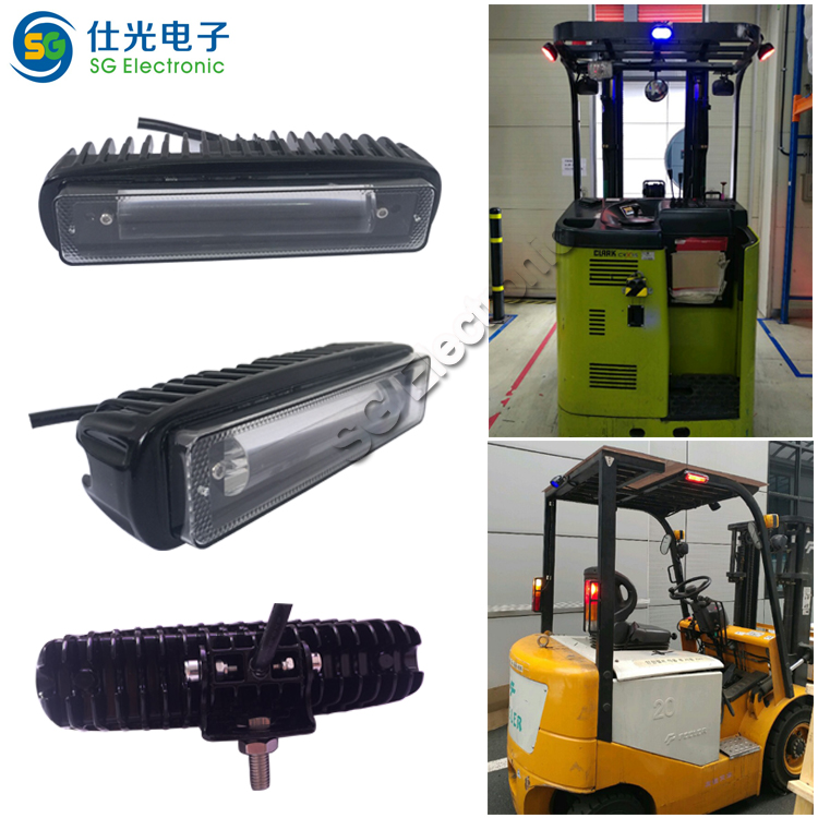 Hot sale 48v led zone line light for forklift warning light