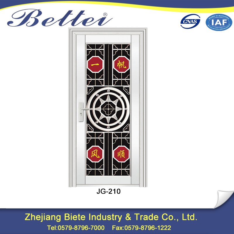 China factory moulded security steel door skin