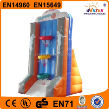 New style pvc tarpaulin inflatable basketball game