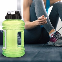 eco-friendly BPA free 2.5L 2.2l Large Sport Water Bottle Gym Workout Jug BPA Free Leakproof with Easy Carry Handle