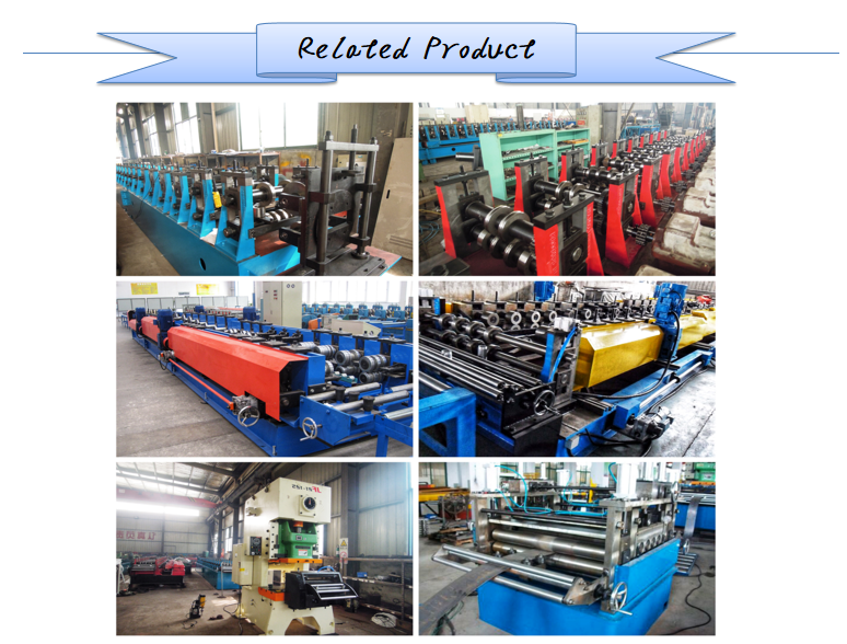 Automatic Perforated Cable Tray Forming Making Machine