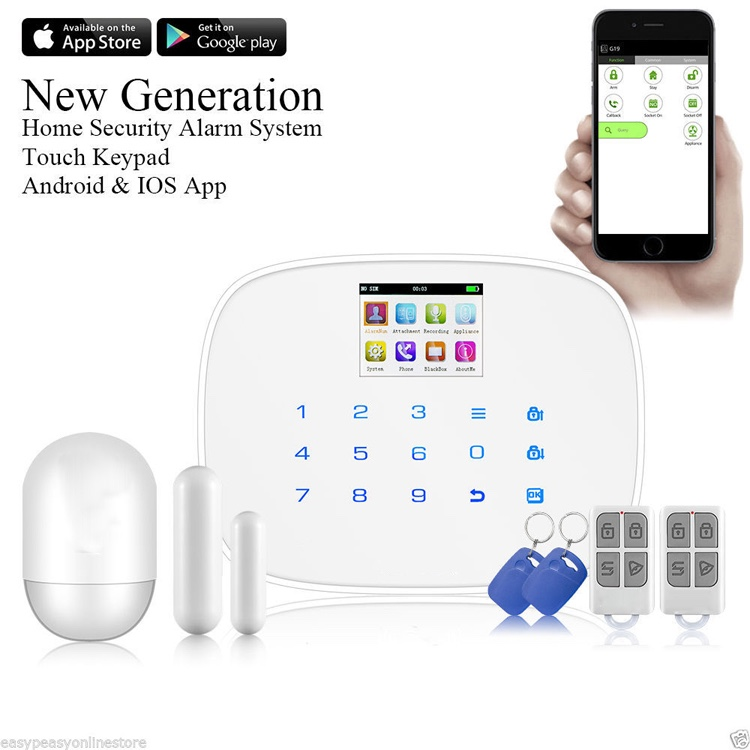 Wireless gsm alarm system smart <strong>security</strong> home alarm system <strong>security</strong>