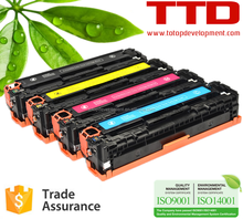 TTD Compatible Color Toner Cartridge CF400A CF401A CF402A CF403A for HP Color LaserJet Pro M252 MFP M277 Toner