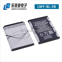 Wholesale Price BL-5B Lithium Ion Rechargeable Battery for Nokia Mobile Phone 3220 5140 5300 6020 6120C 7260 N90