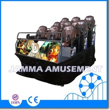 Amusement theme park 3D,4D,5D,6D,7D XD cinema theater with cabin