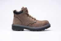 Price CE safety steel toe shoes/Leather safety work boots/work steel toe footwear