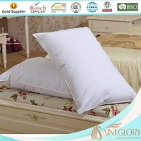 Inflatable goose feather pillow inserts