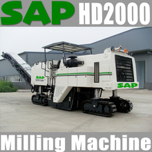 SAP -HD2000 cold milling machine for cutting concrete road