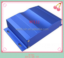 2015 new Aluminum extrusion enclosure with Anodizing different color for Communication Switch inverter converter box housin