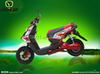 72V 1500W big green power motorbike disc systerm faster speed BWS-MILG Electric motorcycle