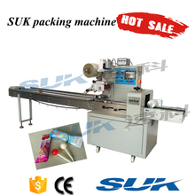 Horizontal hot sale lollipops packaging machine manufacturer