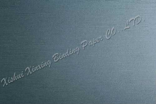 Light blue filaments PVC coated book printing and binding paper
