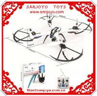 New product Large drone 3D stunt rolling Quadcopter 4CH Flying Toy with gyro RC Quadcopter Led Light Remote control ufo SJY-X6