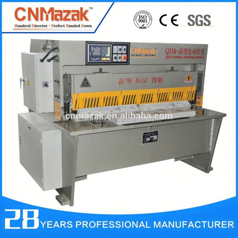 CNMazak <strong>mechanical</strong> guillotine <strong>shearing</strong> <strong>machine</strong>