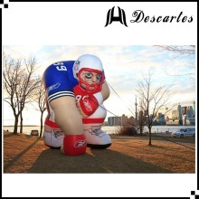 Customized inflatable bubba player/nfl inflatable player lawn figure for sale