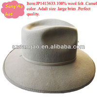 Wholesale big gangster fedora hats