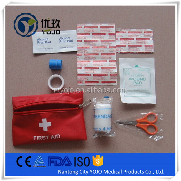 2017 OEM brand factory first aid kit with CE FDA ISO