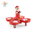 New arrival distinctive christmas fly man gift flying drone with music