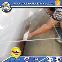 high quality advertising material 6mm plastic sheet 6mm thick clear