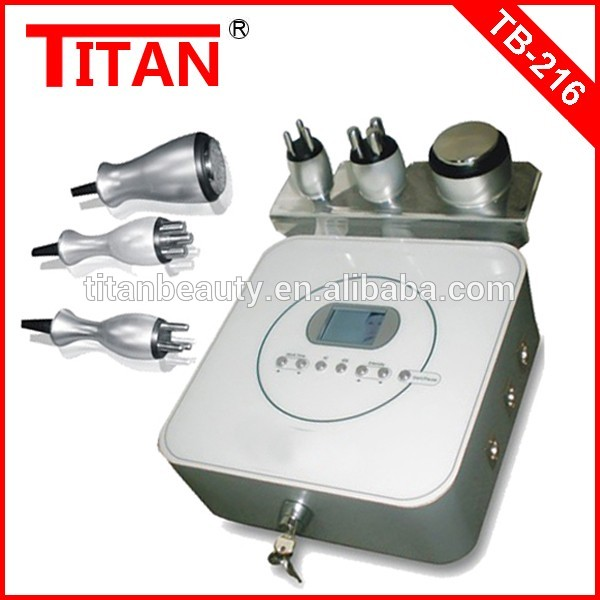 TB-216 Portable Ultrasound Weight Loss Machines / 50w Mini RF Firm Body Skin Tender Alibaba India Machine For Small Business