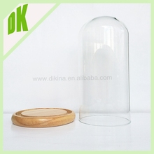 Christmas Bell decorations made in China// Mini&large clear Borosilicate glass dome christmas bell decoration