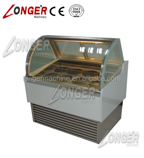 LowTemperature 8 Barrel Ice Cream Display Freezer | Ice Cream Storage Freezers