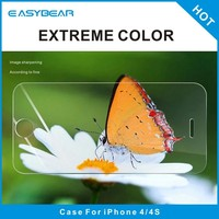 Ultra thin tempered glass safeguard screen protector for iphone 4 4s