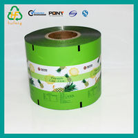 Laminated film bag packing for fruit