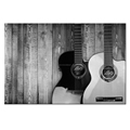 Custom Canvas Printing HD Guitar Picture Prints Canvas Art Decor for Office and Home Wholesale Ready to Hang