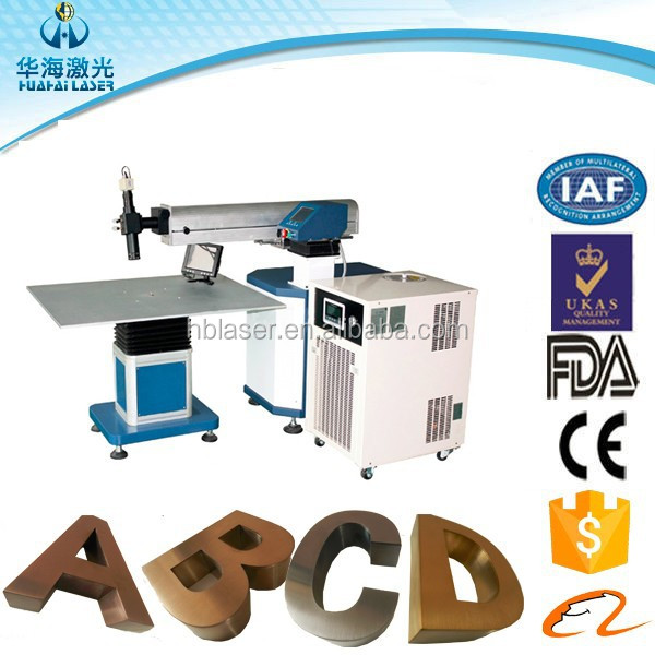 LED Used Outdoor Signboard any Font letter Advertising Sign laser welding machine