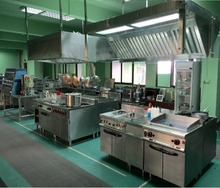 Commercial Restaurant Kitchen Equipment Kitchen Project from YINGRER