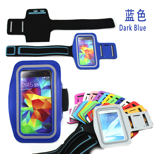 sports running armband case cover for samsung galaxy S5