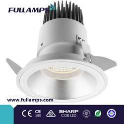 Fullamps high power led down light,3/4/6/8 inch,smd/cob led downlight