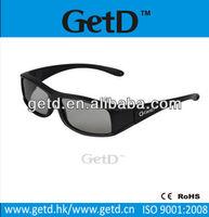 3d chromadepth plastic frame glasses-high end standard 3d glasses