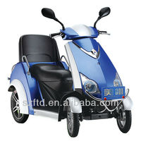 new powerful 4 wheel electric scooter for old and disable person