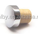 Bulk Wooden Cap Synthetic Wine Cork