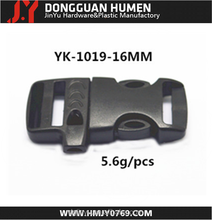 side release flat whistle buckle,plastic whistle buckle