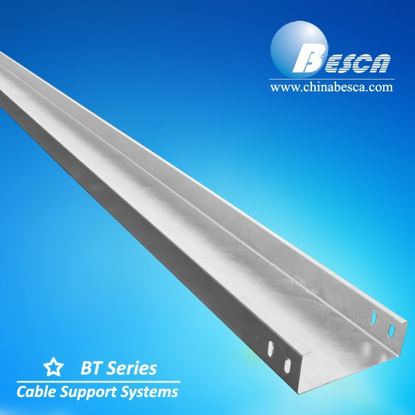 perforated cable tray / Hot Dip Galvanized Stainless Steel Welding Cable Tray