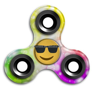Fidget Toy Hand Spinner with printing pictures Stress Reducer Relieve Anxiety